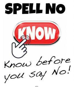spell no know